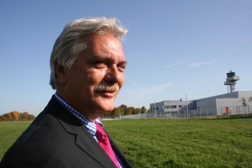 Michael Hesse, Prokurist, Immobilien-Verantwortlicher des Flughafens.